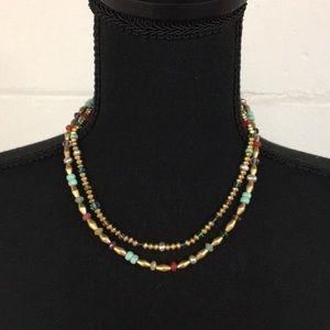 Ralph Lauren Jewelry - Ralph Lauren Beaded 2-Strand Necklace